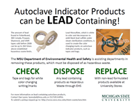 autoclave lead posting