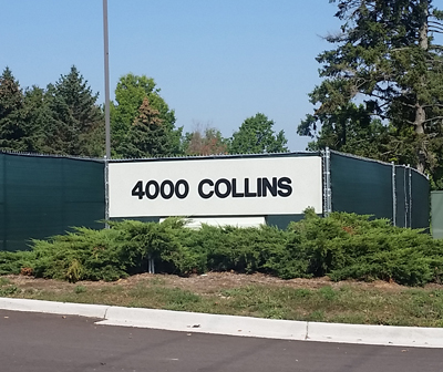EHS Move to Collins Road